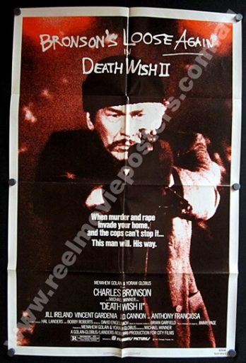 DEATH WISH II 1 Sheet Poster