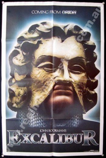 EXCALIBUR Teaser 1 Sheet Poster