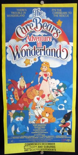 CARE BEARS ADVENTURE IN WONDERLAND Daybill Poster