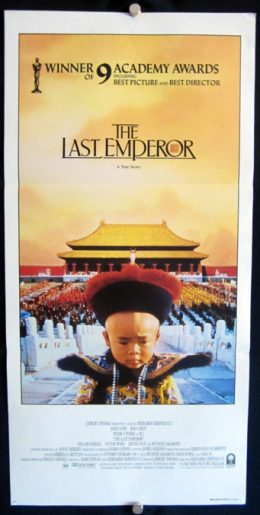 THE LAST EMPEROR Daybill Poster