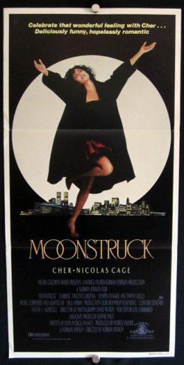 MOONSTRUCK Daybill Poster