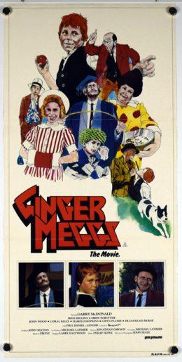 GINGER MEGGS Poster
