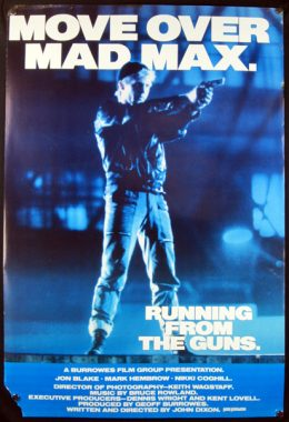 RUNNING FROM THE GUNS Poster
