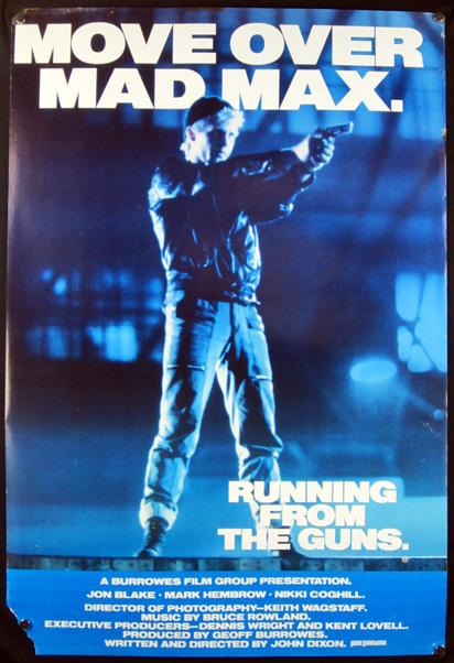 RUNNING FROM THE GUNS Poster