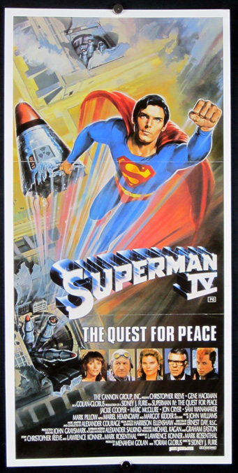 SUPERMAN IV Poster - Reel Movie Posters