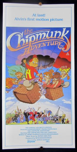 THE CHIPMUNK ADVENTURE Poster