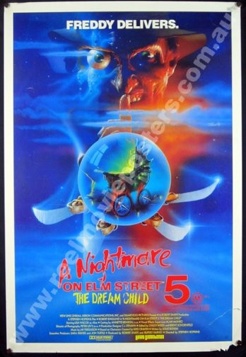A NIGHTMARE ON ELM STREET 5 Poster