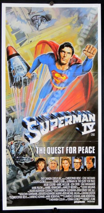 SUPERMAN IV Poster