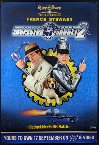 INSPECTOR GADGET 2 Poster - Reel Movie Posters