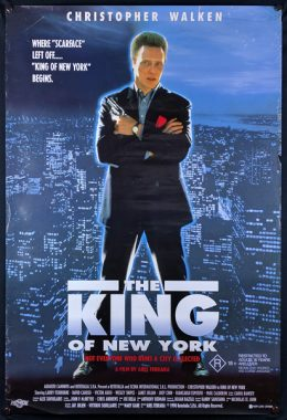 THE KING OF NEW YORK Poster
