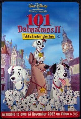 101 DALMATIANS 2 Poster