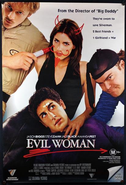 EVIL WOMAN Poster