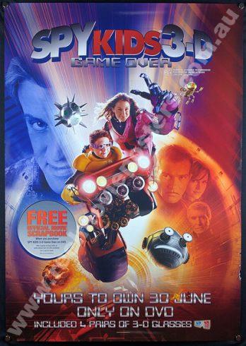 SPY KIDS 3-D Poster