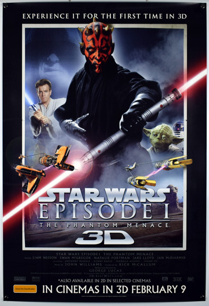 STAR WARS EPISODE I THE PHANTOM MENACE Poster
