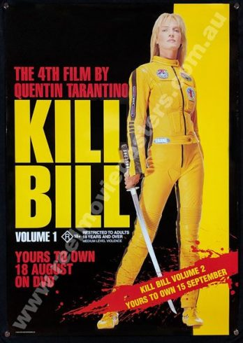 KILL BILL VOL 1 Poster
