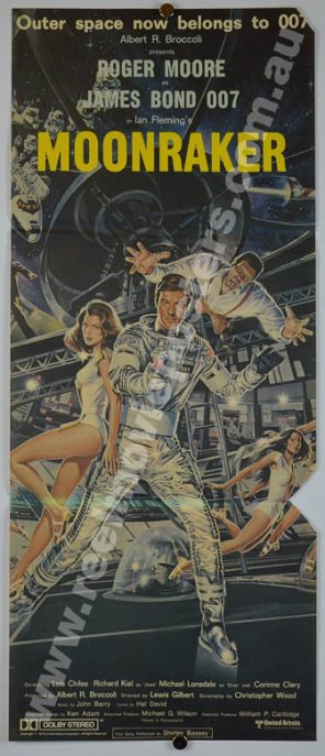 JAMES BOND 007 MOONRANKER Poster