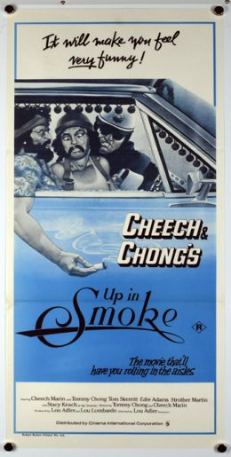 CHEECH & CHONG'S UP IN SMOKE Poster