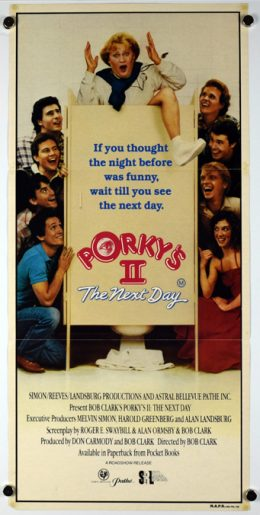PORKY'S II THE NEXT DAY Poster