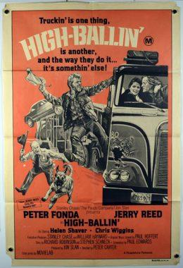 HIGH-BALLIN' Poster