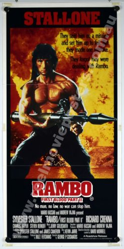 RAMBO FIRST BLOOD PART II Poster
