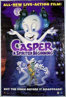 CASPER A SPIRITED BEGINNING Poster