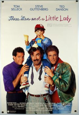 THREE MEN AND A LITTLE LADY Poster