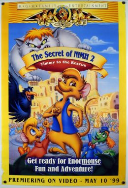 THE SECRET OF NIMH 2 Poster
