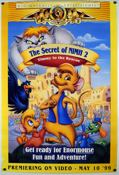 THE SECRET OF NIMH 2 Poster