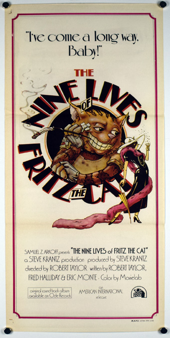 NINE LIVES OF FRITZ THE CAT Poster