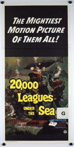 LEAGUES UNDER THE SEA Poster