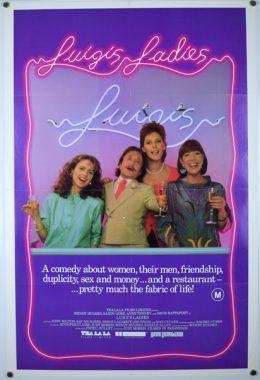 LUIGI'S LADIES Poster