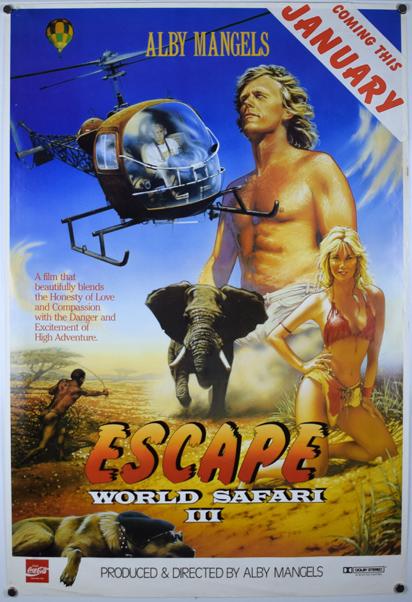 ESCAPE WORLD SAFARI III Poster