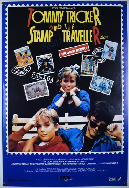 TOMMY TRICKER & THE STAMP TRAVELLER Poster