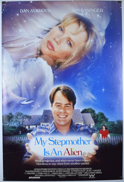 MY STEPMOTHER IS AN ALIEN Poster